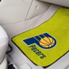 NBA- Indiana Pacers 2 pc Carpeted Floor mats Front