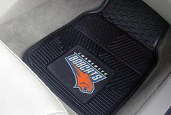 NBA-Charlotte Bobcats 2 pc Heavy Duty Vinyl Floor mats Front