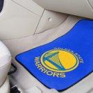 NBA- California Golden State Warriors 2 pc Carpeted Floor mats Front