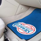 NBA- Los Angeles Clippers 2 pc Carpeted Floor mats Front