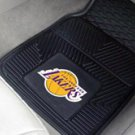 NBA-Los Angeles Lakers 2 pc Heavy Duty Vinyl Floor mats Front