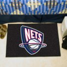 "NBA-New Jersey Nets 19""x30"" carpeted bed mat"