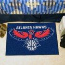 """NBA-Atlanta Hawks 19""""x30"""" carpeted bed mat"""