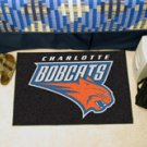 "NBA-Charlotte Bobcats 19""x30"" carpeted bed mat"