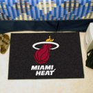 "NBA-Miami Heat 19""x30"" carpeted bed mat"