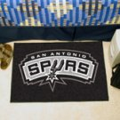 "NBA-San Antonio Spurs 19""x30"" carpeted bed mat"