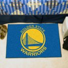 "NBA-California Golden State Warriors 19""x30"" carpeted bed mat"