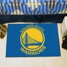 """NBA-California Golden State Warriors 19""""x30"""" carpeted bed mat"""