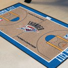 "NBA-Oklahoma City Thunder 24""x44"" Court Runner Rug"