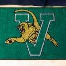 """University of Vermont 19""""x30"""" carpeted bed mat/door mat"""