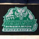 """Binghamton University 19""""x30"""" carpeted bed mat/door mat"""