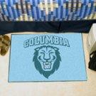 """Columbia University CU Logo 19""""x30"""" carpeted bed mat/door mat"""