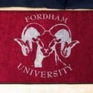 "Fordham University  19""x30"" carpeted bed mat/door mat"
