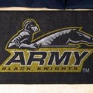 """US Military Academy Black Knights 19""""x30"""" carpeted bed mat/door mat"""