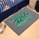 "Slippery Rock University 19""x30"" carpeted bed mat/door mat"