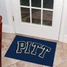 """University of Pittsburgh Pitt 19""""x30"""" carpeted bed mat/door mat"""