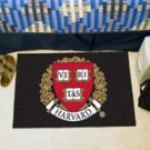 "Harvard University 19""x30"" carpeted bed mat/door mat"