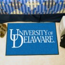 "University of Delaware 19""x30"" carpeted bed mat/door mat"