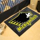 """Michigan Tech 19""""x30"""" carpeted bed mat/door mat"""