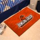 "Bowling Green State University Falcons 19""x30"" carpeted bed mat/door mat"