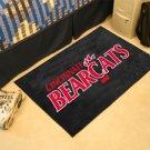 "University of Cincinnati Bearcats 19""x30"" carpeted bed mat/door mat"