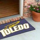 """University of Toledo 19""""x30"""" carpeted bed mat/door mat"""