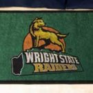 "Wright State University Raiders 19""x30"" carpeted bed mat/door mat"