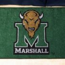 "Marshall University 19""x30"" carpeted bed mat/door mat"