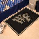 "Wake Forest University WF 19""x30"" carpeted bed mat/door mat"