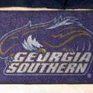 """Georgia Southern University  19""""x30"""" carpeted bed mat/door mat"""