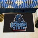 "Georgia State University  19""x30"" carpeted bed mat/door mat"
