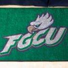 """Florida Golf Coast University FGCU 19""""x30"""" carpeted bed mat/door mat"""