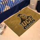 "University of Central Florida UCF Knights 19""x30"" carpeted bed mat/door mat"