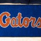 "University of Florida Gators Script 19""x30"" carpeted bed mat/door mat"