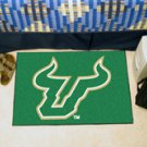 "University of South Florida 19""x30"" carpeted bed mat/door mat"