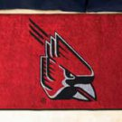 "Ball State University 19""x30"" carpeted bed mat/door mat"