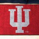 """Indiana University IU 19""""x30"""" carpeted bed mat/door mat"""