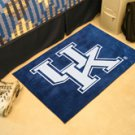"University of Kentucky UK Logo 19""x30"" carpeted bed mat/door mat"