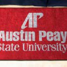 "Austin Peay State University 19""x30"" carpeted bed mat/door mat"