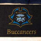 "East Tennessee State University Buccaneers 19""x30"" carpeted bed mat/door mat"