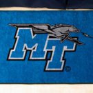 """Middle Tennessee State University MT Raiders 19""""x30"""" carpeted bed mat/door mat"""