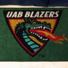 "University of Alabama at Birmingham UAB Blazers 19""x30"" carpeted bed mat/door mat"
