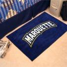 "Marquette University 19""x30"" carpeted bed mat/door mat"