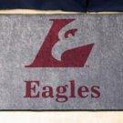 """University of Wisconsin La Crosse Eagles 19""""x30"""" carpeted bed mat/door mat"""