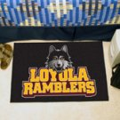 "Loyola University Chicago Ramblers 19""x30"" carpeted bed mat/door mat"