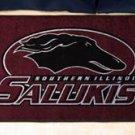 "Southern Illinois University Salukis 19""x30"" carpeted bed mat/door mat"
