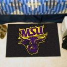 "Minnesota State University Mankato MSU 19""x30"" carpeted bed mat/door mat"