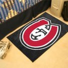"St. Cloud State University St. C  19""x30"" carpeted bed mat/door mat"