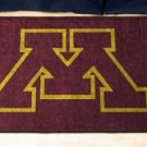 "University of Minnesota 19""x30"" carpeted bed mat/door mat"