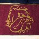"""University of Minnesota Duluth 19""""x30"""" carpeted bed mat/door mat"""